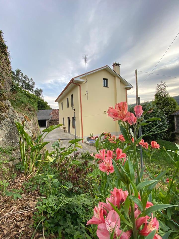 Casa de campo con vistas en Cedeira