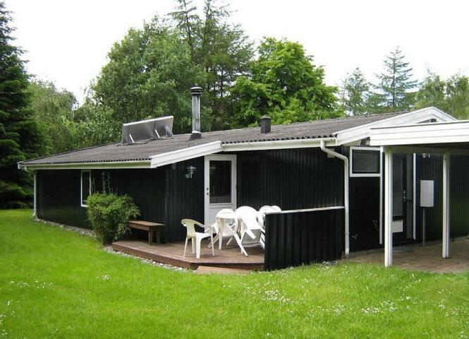 Villa Bella Ferienhaus 400 m von Strand - Idestrup - Blockhütte