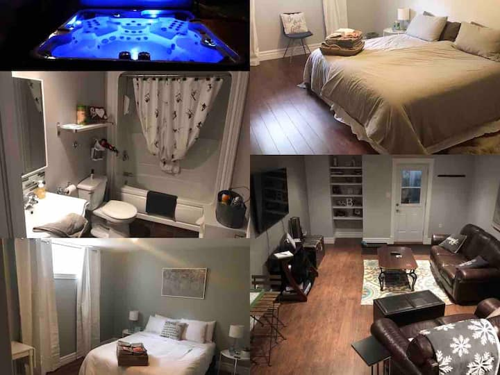 Wineries, Hot Tub, Separate Entry, King Bed