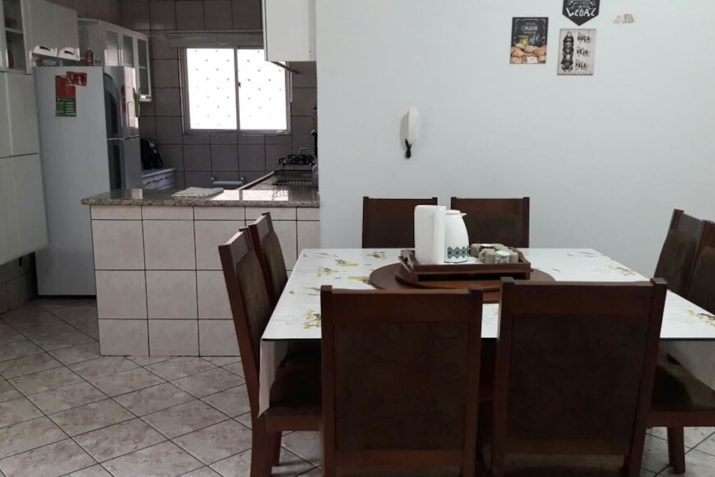 sala de refeições (compartilhada)