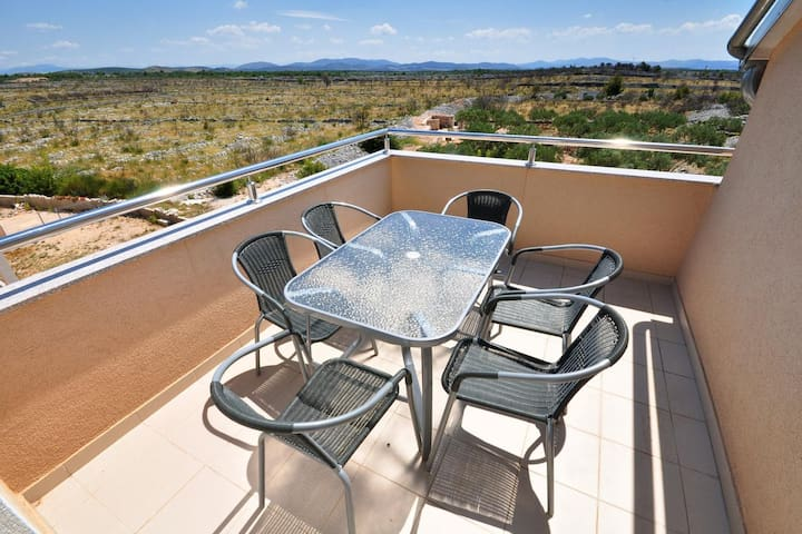 Two bedroom apartment with terrace Vodice (A-10022-b)