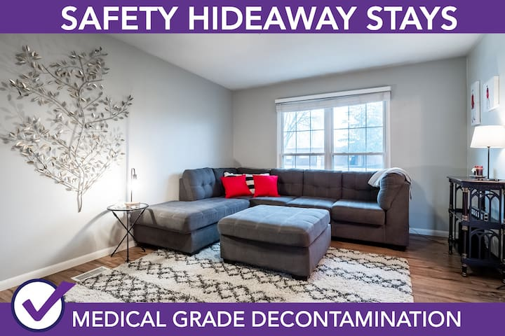 Safety Hideaway - Medical Grade Clean Home 48