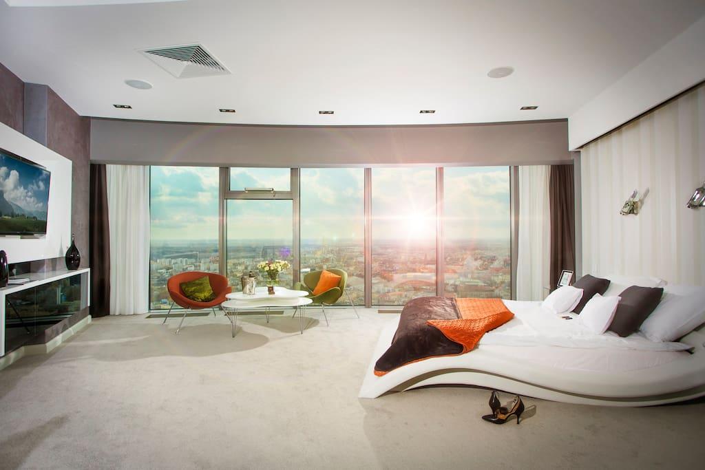 Apartament na 42 piętrze