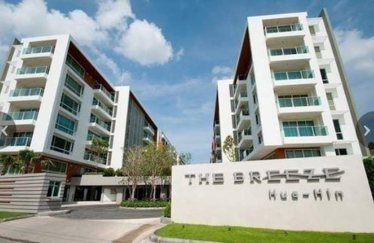 The Breeze Condo HuaHin /2min local beach