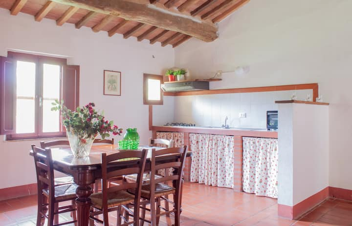 Muflone - 5 beds apartment Tuscan countryside