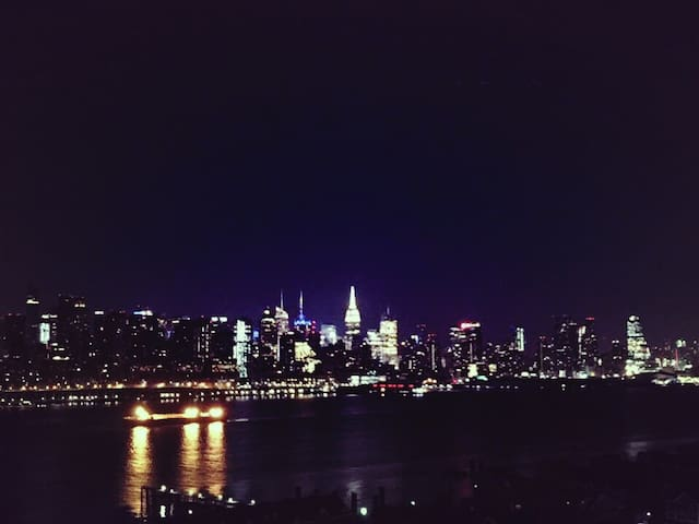 夜景絶景スポットGreat night view area. - Guttenberg - Apartmen