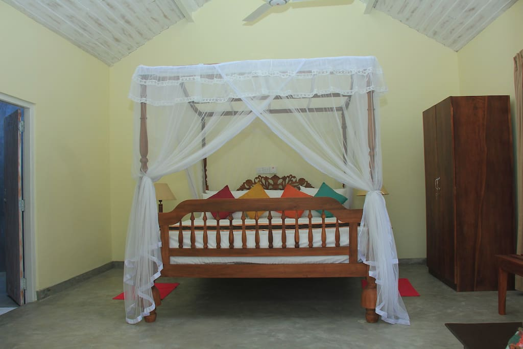 Traditional Sri Lankan bed