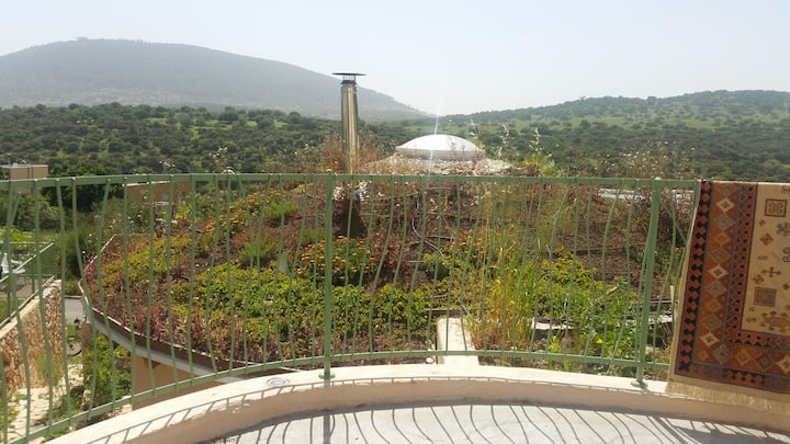 EcoDome Kibutz Beit Keshet. Mt. Tavor