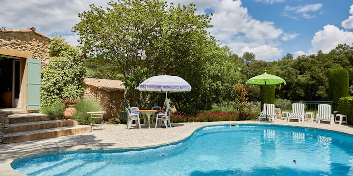 Mas de L'Olivette - Secluded private house & pool