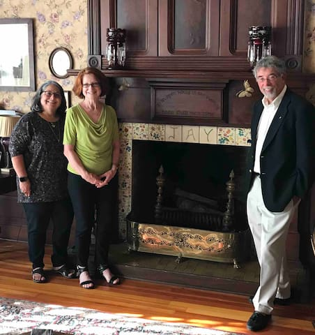 Co-owners of The Jay Inn: lydia jay martin, Susan Jay and Philip Jay