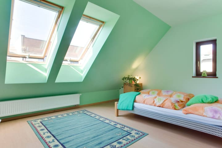 Top floor Cozy room  for 3, wifi - Praag