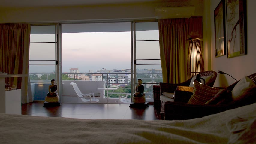 Good view - Condo - with golfgear - Chiang Mai - Lägenhet