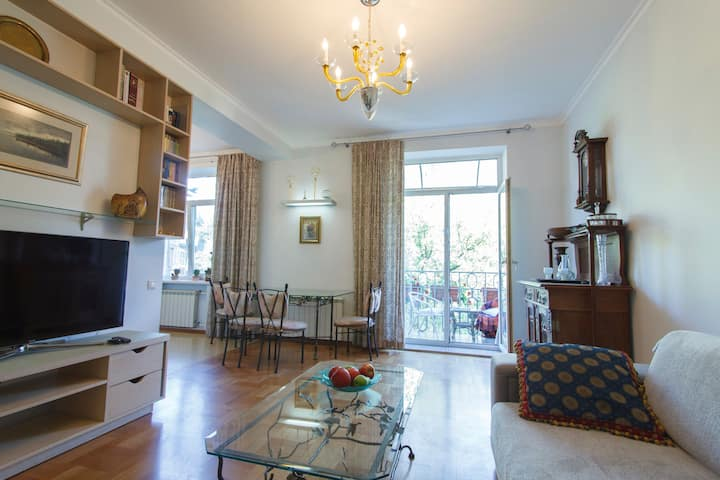 Super comfortable two-room in the center of Kiev
