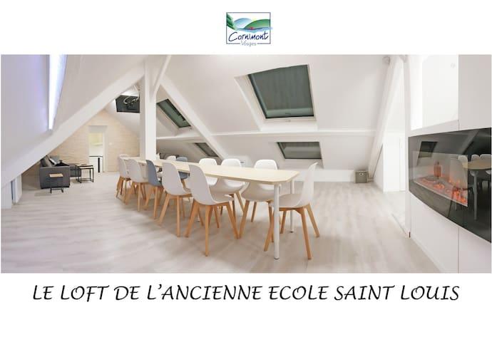 Loft ancienne Ecole St Louis Cornimont/La Bresse