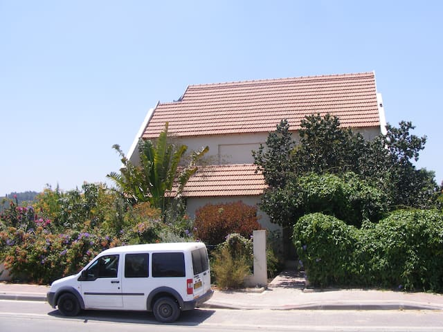 Beautiful House between Jerusalem and Tel Aviv