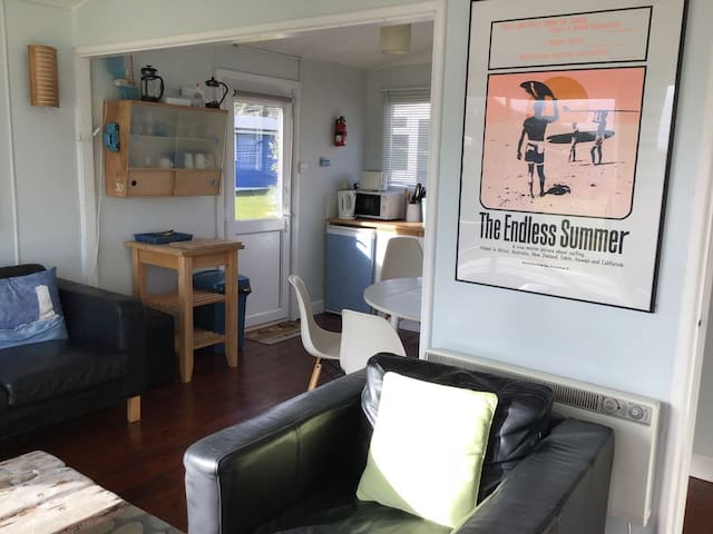 Surfside has an airy open plan living area