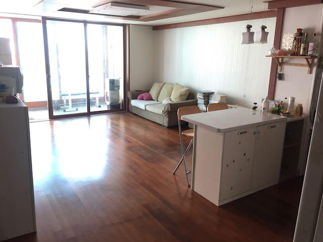 깨끗하면서 넓고 교통이편한 아파트 5층 - 서울특별시 - Lejlighed