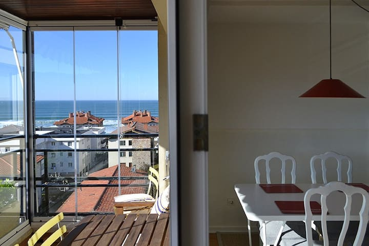 ATERIAN.STUNNING VIEWS.NEAR BEACH.WIFI&PARKING - Zarautz - Apartment