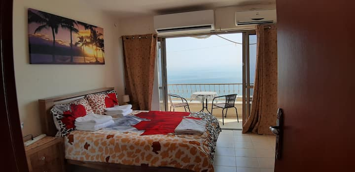 Amazing view sea of Galilee apartment