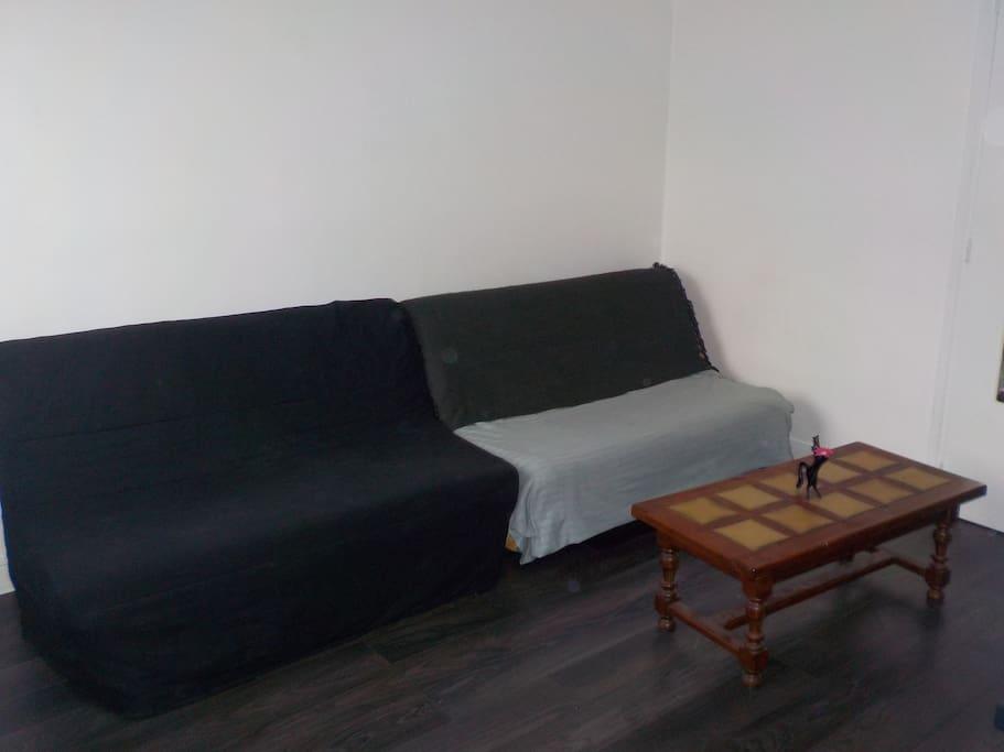 2nd chambre canapé-lit