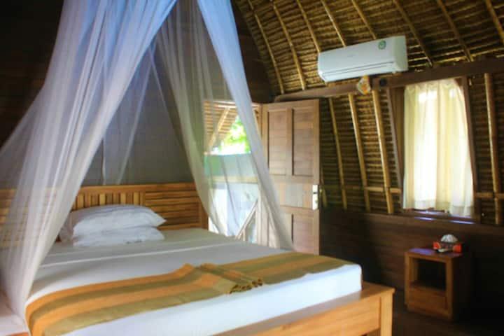 Traditional Lumbung Bali Hut