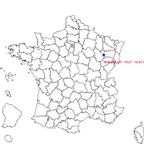 Maison à 3 min de Vittel - Mandres-sur-Vair - Huis