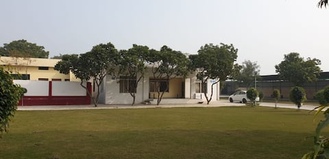 Stay in a farmhouse and experience a desi life