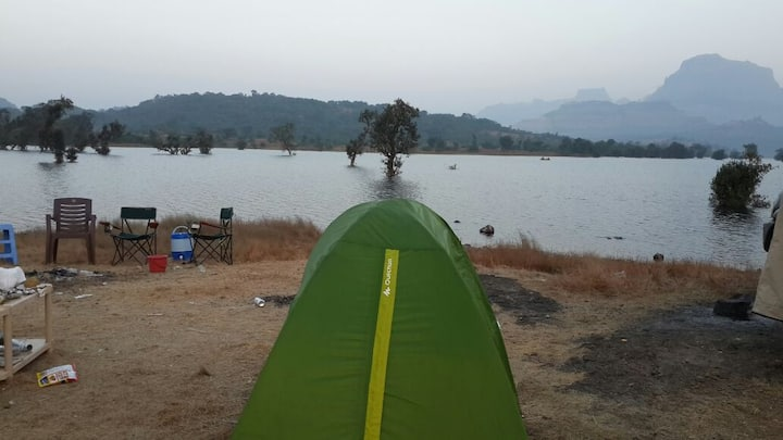 Camp Site at Sandhan Valley, Bhandardara