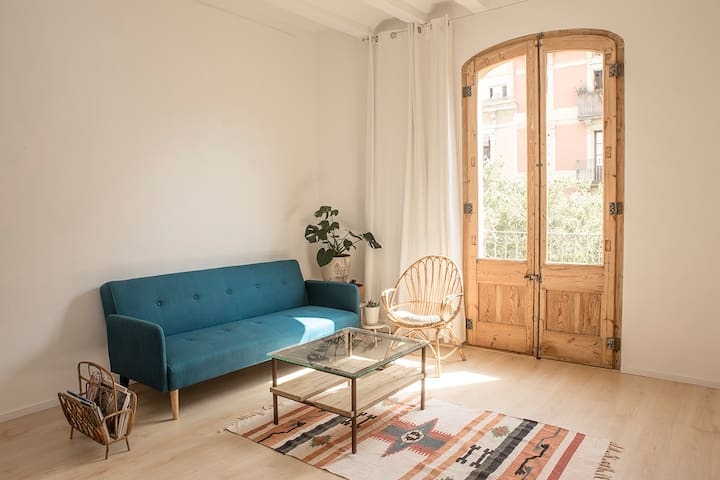Sunny Flat in a really nice area - Barcellona - Appartamento