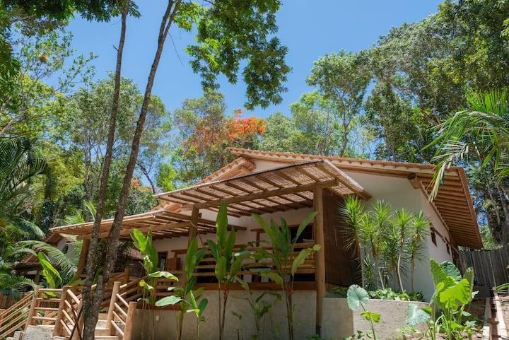 Etnia Casa Hotel - Villa Bibalé para 4 Pessoas com Vista Jardim