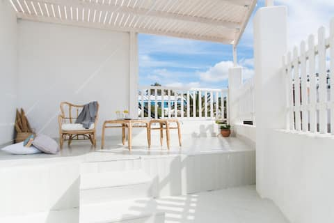 Rafaela Apartments: Grey Apartment in Skala Patmos