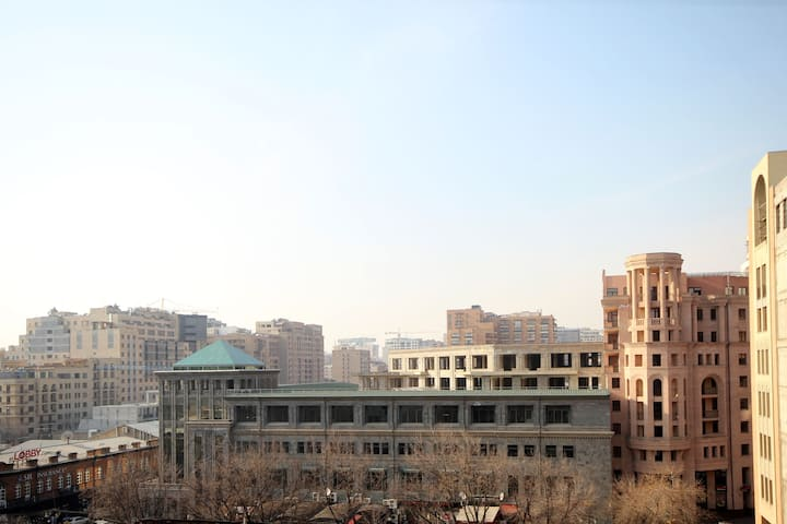 #35 One Bedroom Apt. With Balcony and City View