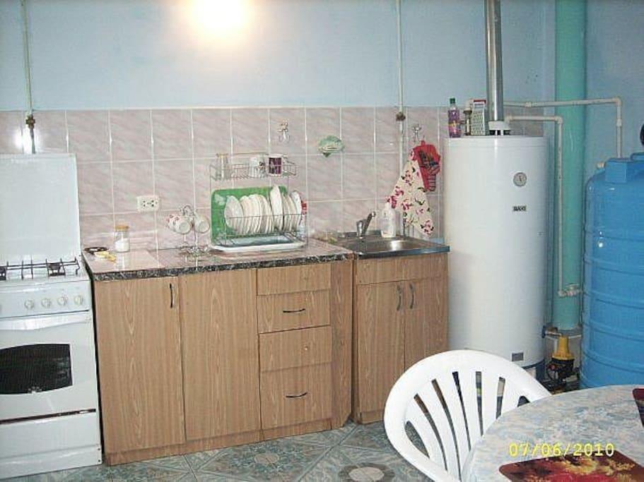 кухня для общего пользования