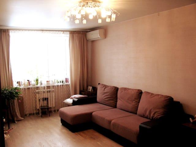 Квартира с шкарным видом на р. Москва