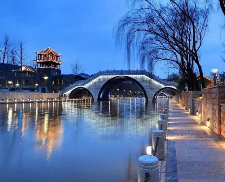 邛海湿地公园/月亮湖公园/海河天街大床房