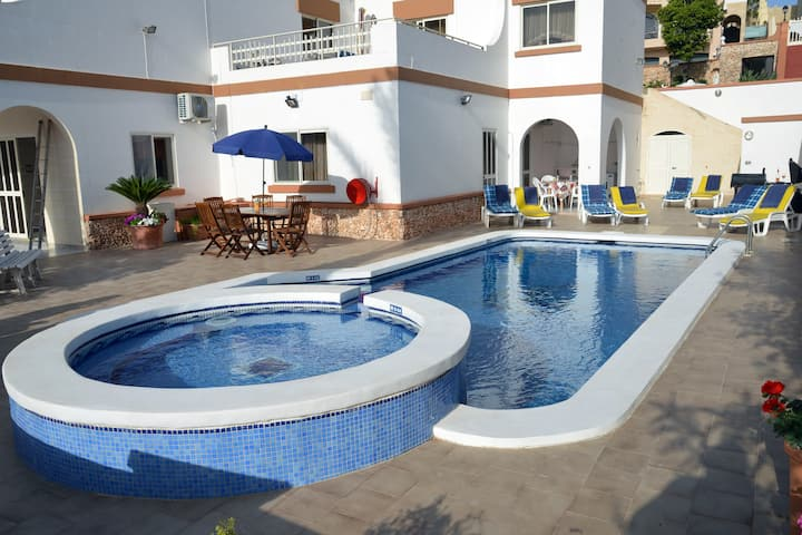 Villa Apartment with private pool