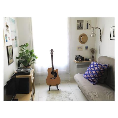 Studio in Bastille/Ledru Rollin