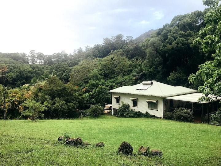 The Creek House near Byron & Brunswick Heads