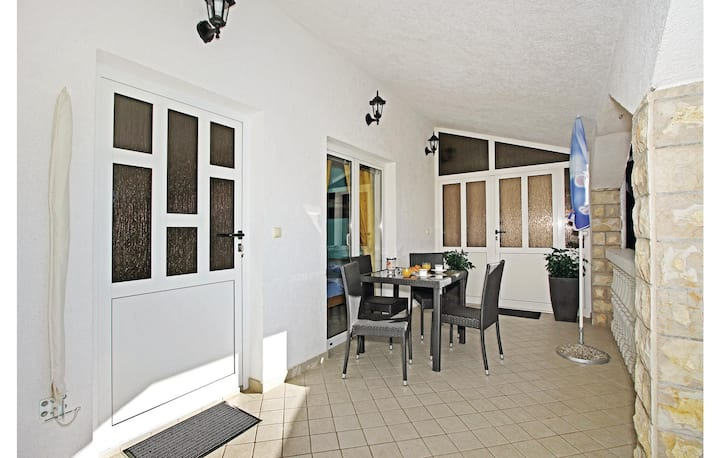 Awesome home in Vodice with WiFi and 1 Bedrooms