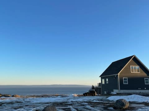 Tidal Bay Chalet - Heart of Alma NB