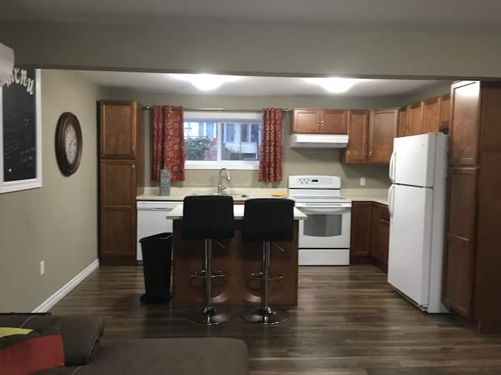 Spacious Dartmouth apartment with keypad entry