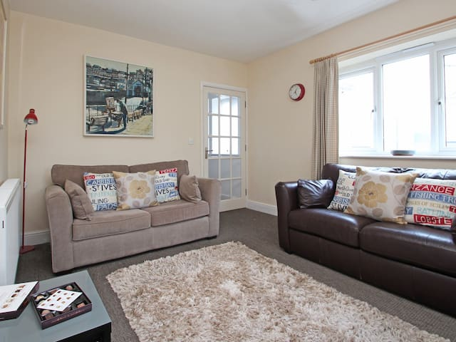 CHY-AN-MOR, family friendly, with a garden in St Ives, Ref 924537