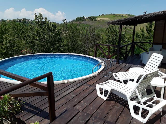 Holiday home in the Abruzzo hills