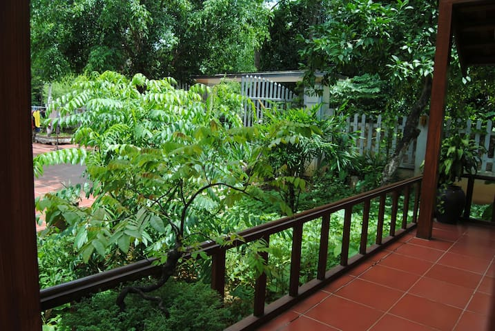 Deluxe Double Bungalow - Garden View - Bai Dinh Pagoda  - Apartment