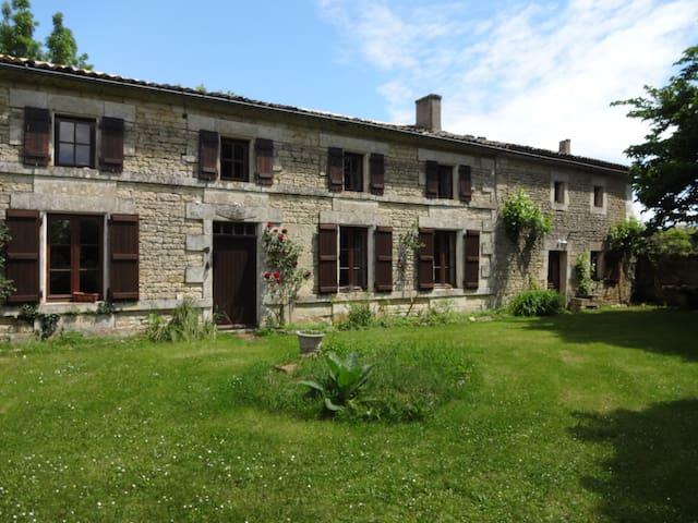 Maison de Campagne - Gîte de France - Saint-Médard - Casa