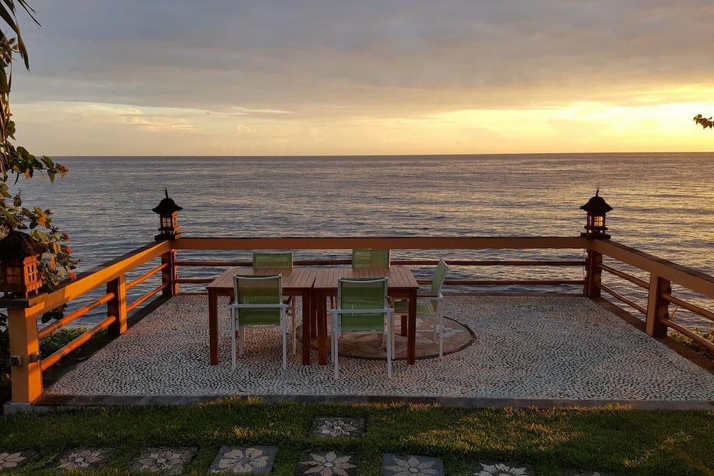 Sea Terrace evening