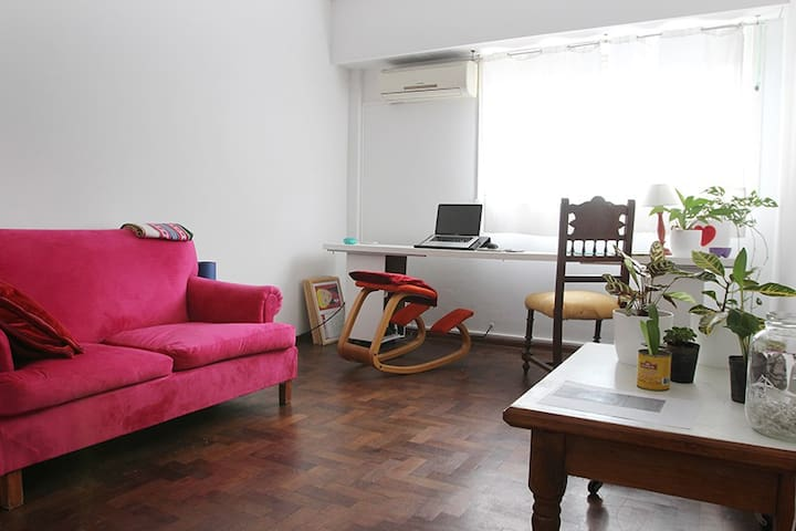 Habitación Individual Rosario Centro Parque España