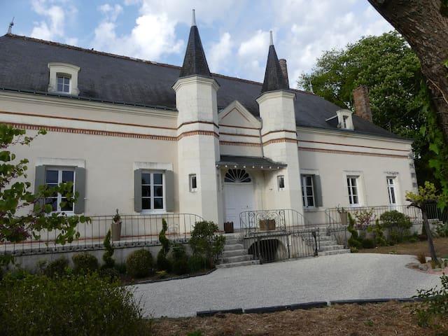 Gite de groupe Léopoldine,  15 pers Loire Valley