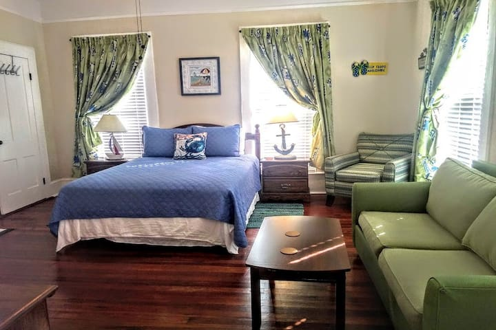 LG 1 BR 1BA APT OFF JEKYLL & SSI BEACHES & DOWNTWN