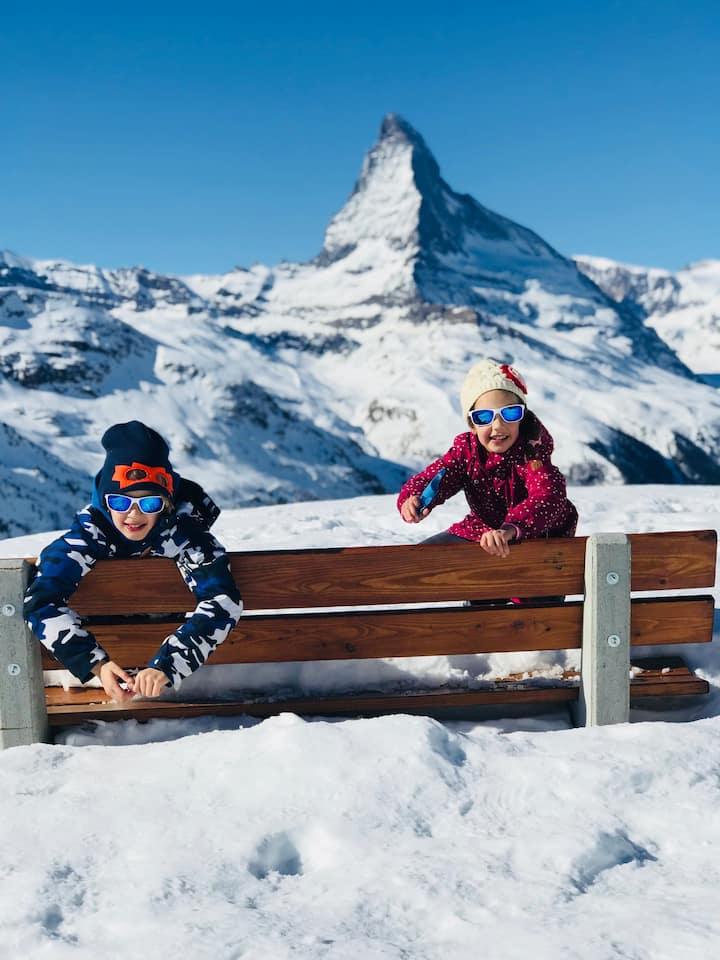 CALAMUA  Stunning Matterhorn and Zermatt views